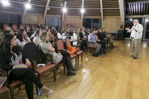 Salvador García en el encuentro anual de Metrópolis